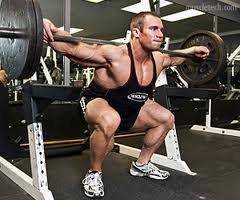 training the legs