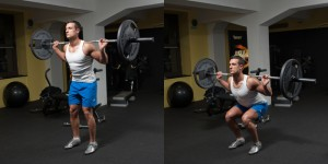 Narrow Stance Squat