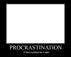 Procrastination Joke