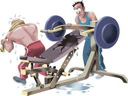 gym germs bench press