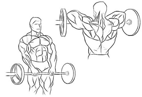 The Wide-Grip Smith-Machine Upright Row