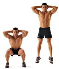 Squat jumps