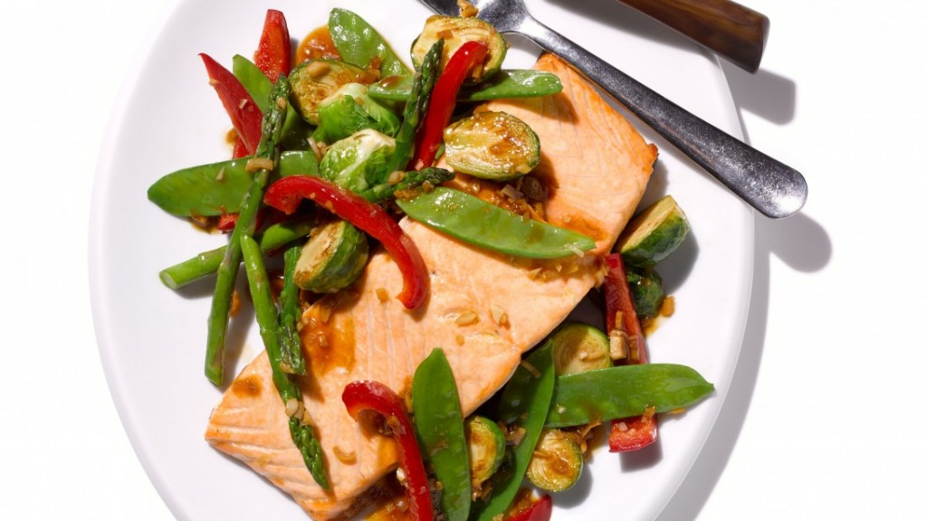 Broiled Ginger Salmon