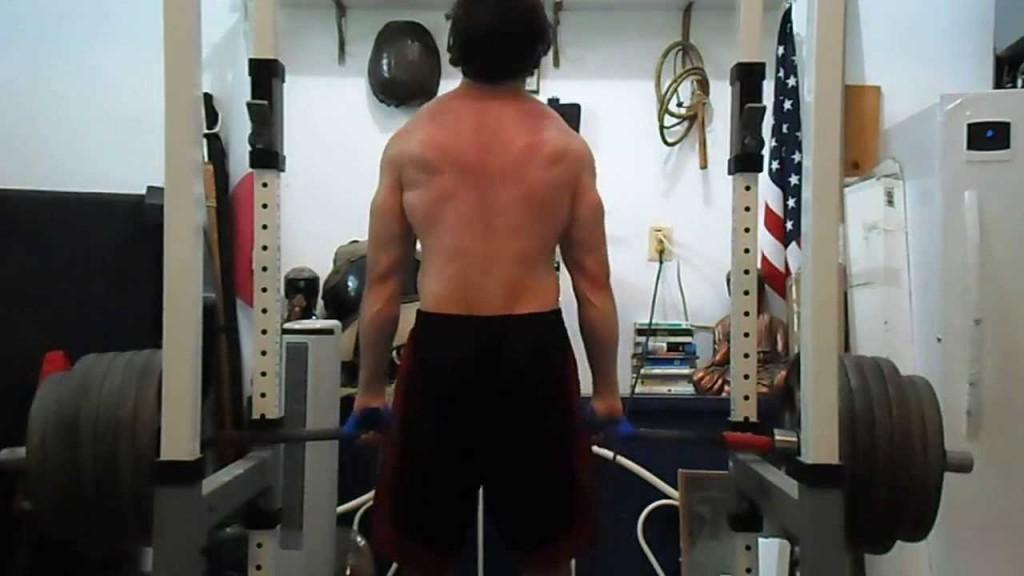 Rack Pull Shrug