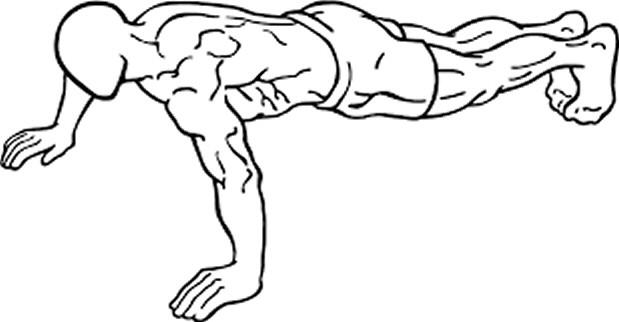 upper body push