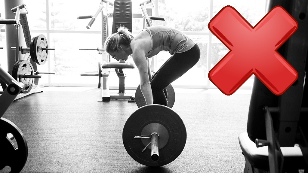 bad deadlift form
