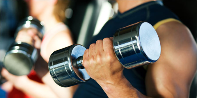 Traditional weight Training